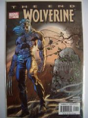 Wolverine The End #1 Dynamic Forces Signed Paul Jenkins DF COA Ltd 999 Marvel comic book